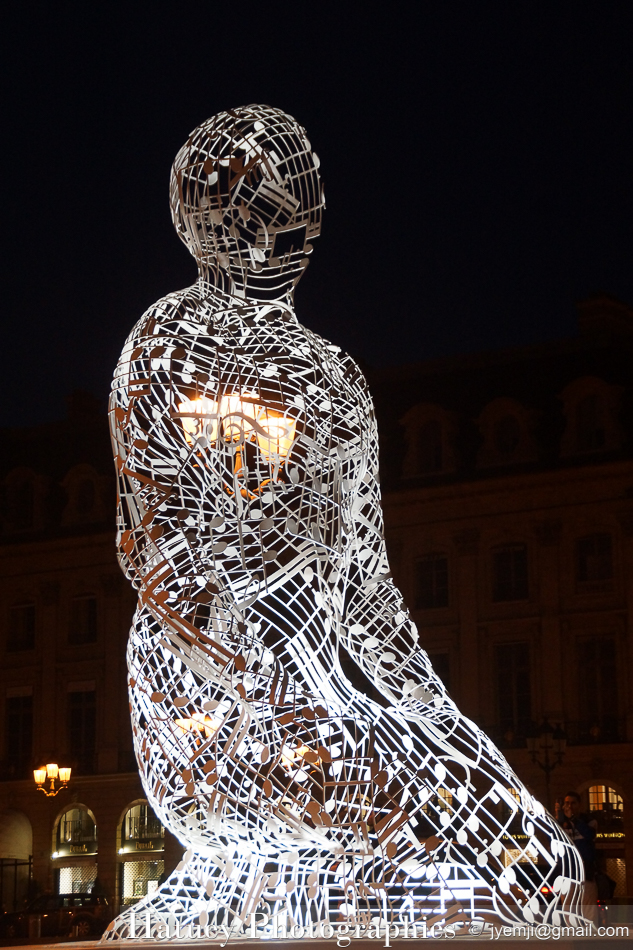 Jaume PLENSA Place Vendome Paris ©Hatuey Photographies