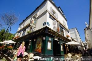 """Paris, Photographies de Montmartre - Restaurant """"A la Bonne Franquette"""" par © Hatuey Photographies © jyemji@gmail.com"""