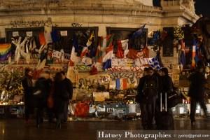 Paris, Memorial Place de La Republique par ©Hatuey Photographies