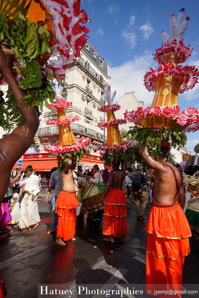 Photographies de Procession de Ganesh - Paris 2016 © Hatuey Photographies