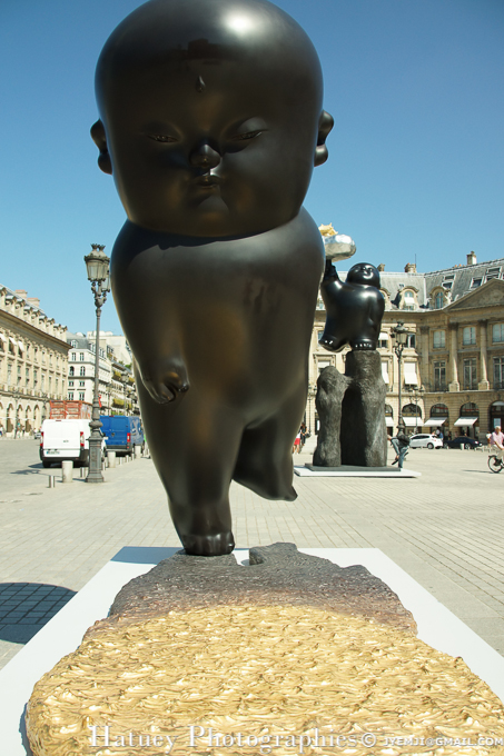 Exposition Li Chen, Place Vendome. Photographies à Paris par © Hatuey Photographies