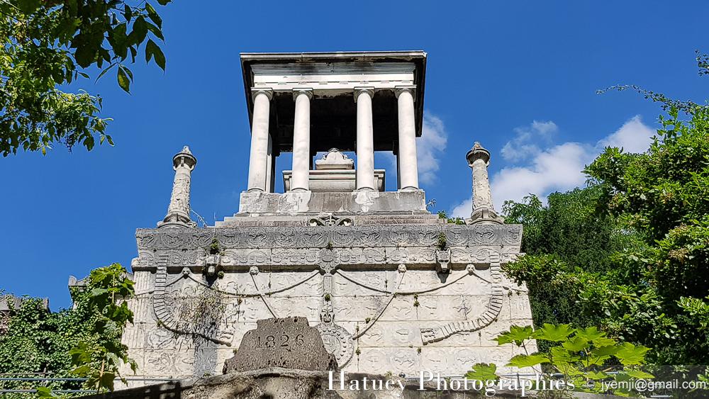 """Paris, Cemetery, Cimetiere du Pere Lachaise , Photographies Mausolée Elisabeth Alexandrovna Stroganoff Comtesse DEMIDOFF """"©Hatuey Photographies"""""""