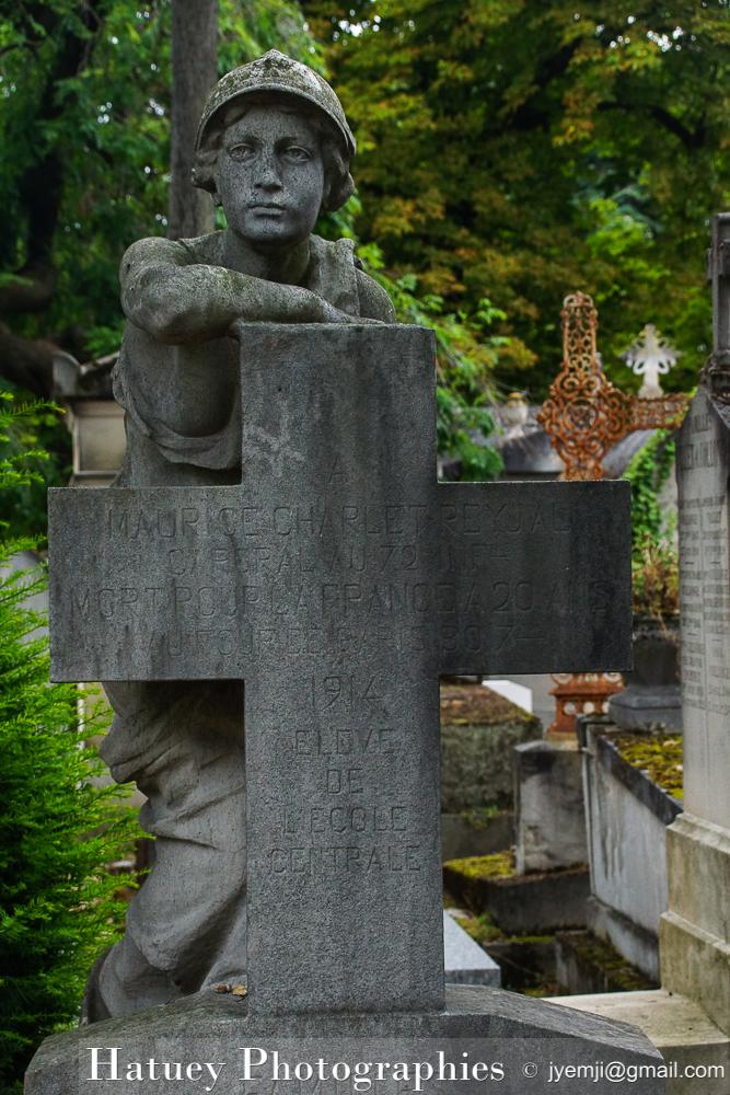 """Paris, Cimetiere du Pere Lachaise , Photographies de la tombe de CHARLET-REYJAL""""©Hatuey Photographies"""""""