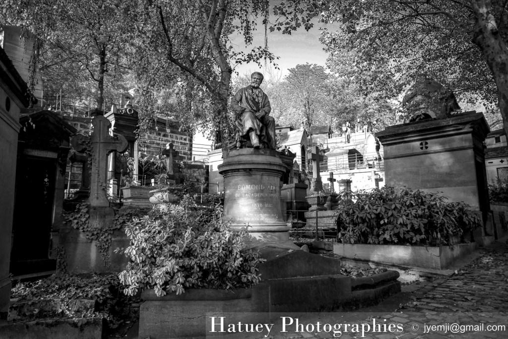 """Paris, Cimetiere du Pere Lachaise, Tombe de Edmond ABOUT""""©Hatuey Photographies"""""""