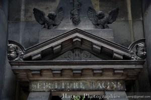 """Paris, Cimetiere du Pere Lachaise, Jean-Joseph RACINE """"©Hatuey Photographies"""""""