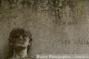 """Paris, Cimetiere du Pere Lachaise, Pierre TIRARD """"©Hatuey Photographies"""""""