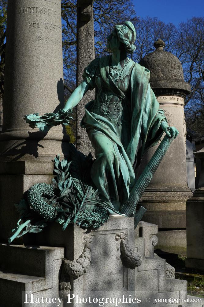 """Paris, Cimetiere du Pere Lachaise , Photographies de Paris, Cemetery Graveyard Cementerio Cimitero Friedhof , Cimetiere du Pere Lachaise , Photographies de la tombe de Charles FLOQUET (1828-1896) par """"©Hatuey Photographies"""""""