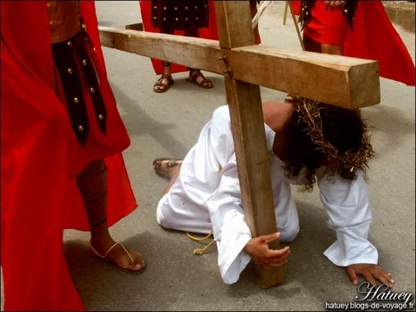 Passion du Christ à Acanceh.