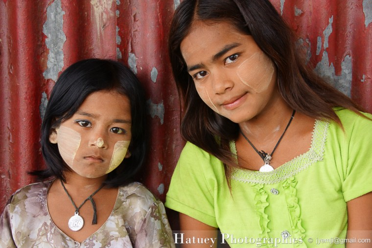 Enfants de Yangon, Myanmar by ©Hatuey Photographies