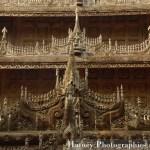 Myanmar Birmanie, Photographies 2015, Asie, Sculpture, Mandalay, Monastère Shwenandaw by © Hatuey Photographies by © Hatuey Photographies