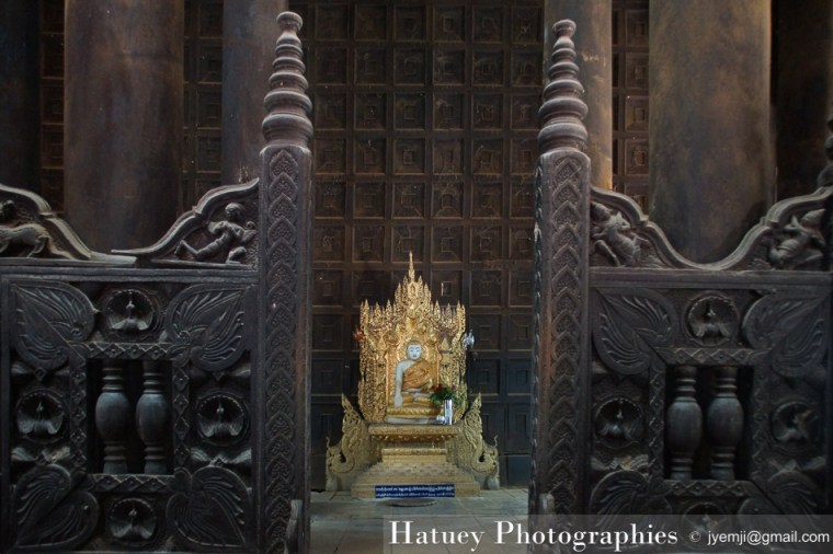 Asie, Myanmar,Bagaya Kyaung, Ava, Photographies, by © Hatuey Photographies