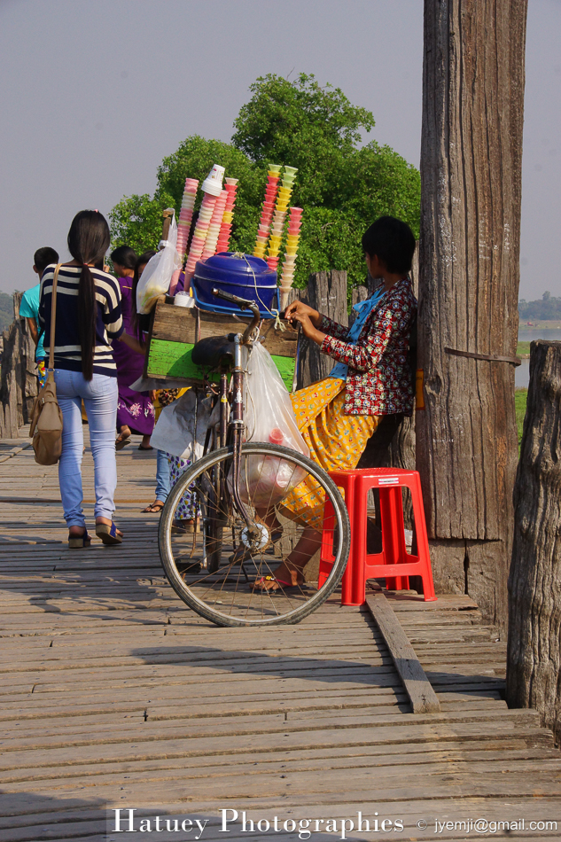 Asie, Hatuey Photographies, Myanmar,U BEIN - Ubein Bridge, Photographies, U BEIN - Ubein Bridge by © Hatuey Photographies
