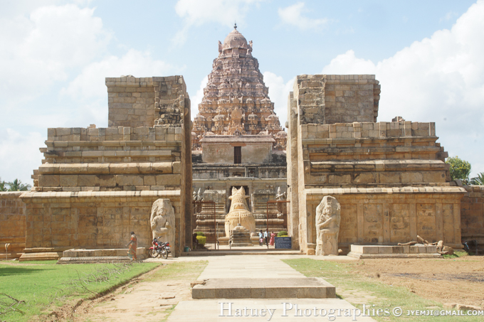 Brihadeeswarar Temple, Gangaikondacholapuram (TN), Tourism in South India. Photographs of South India, Photographies en Inde du Sud par © Hatuey Photographies