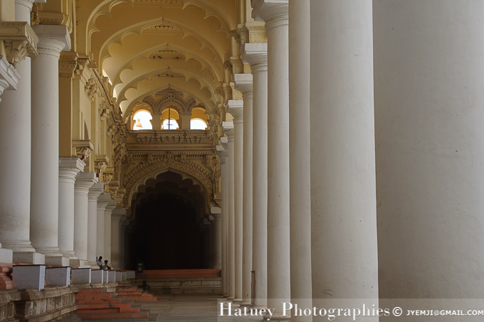Madurai, Thirumalai Nayak Palace (TN). Tourism in South India. Photographs of South India, Photographies en Inde du Sud par © Hatuey Photographies