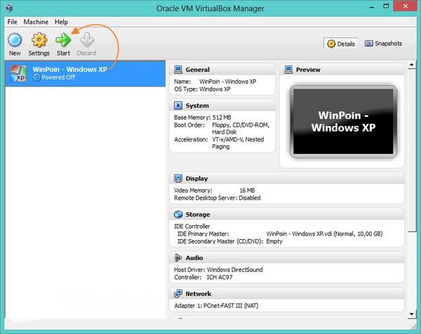 Cara Instal Windows XP di VirtualBox Beserta Gambar