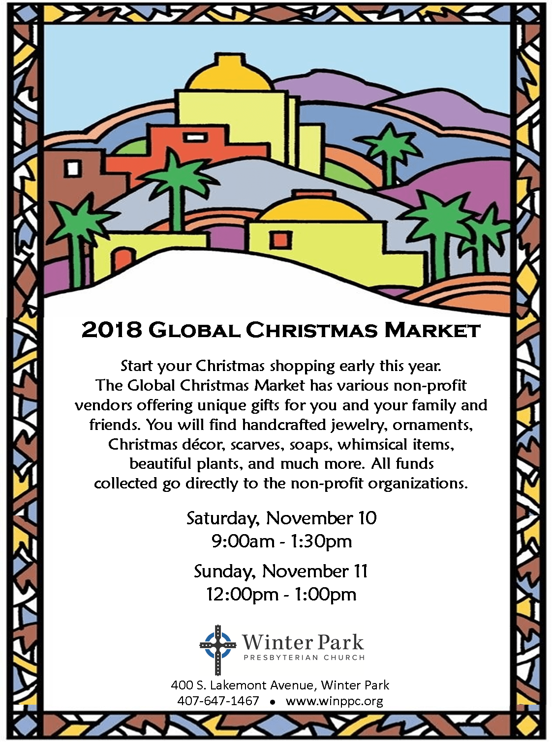 Alternative Global Market | Winter Park Presbyterian Church