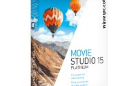 MAGIX VEGAS Movie Studio Platinum 15 With Crack