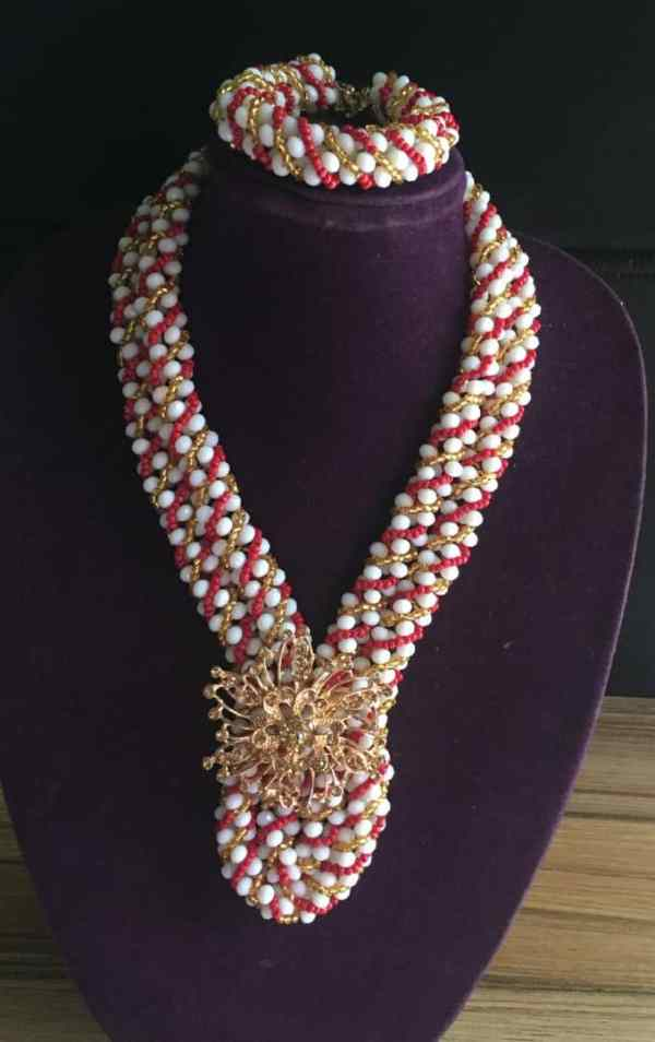 Pink and Gold Jewelry