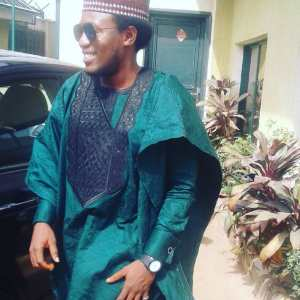 Men's Long Sleeves Agbada Native – Green