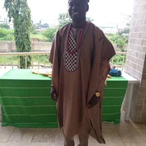 Men's Long Sleeves Agbada Native