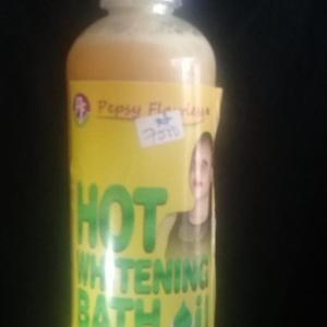Hot Whitening Bath Oil
