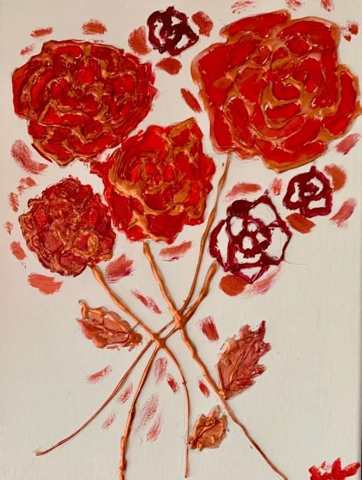 hot glue art, Win's Books, Built By Us with Winnie Tataw