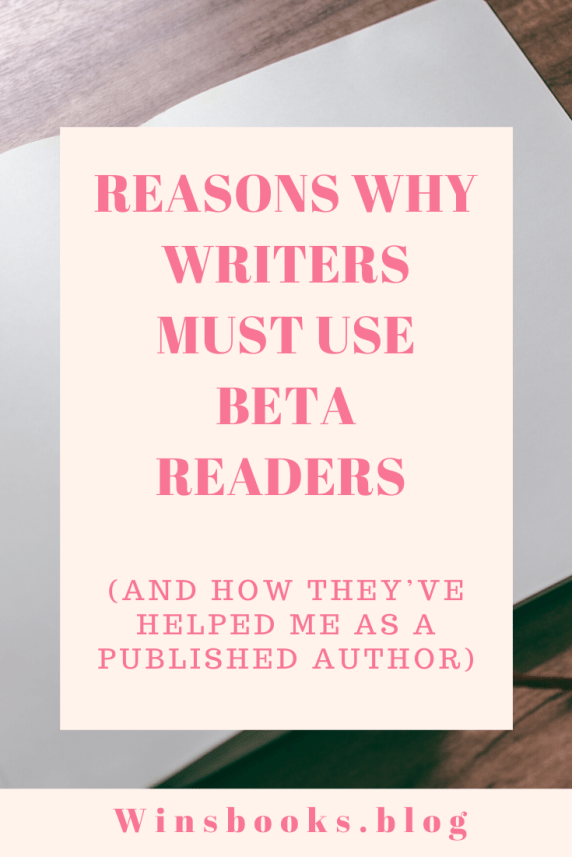 readers are needed by writers| winsbooks; find out why writers need to use Beta readers for their writing projects