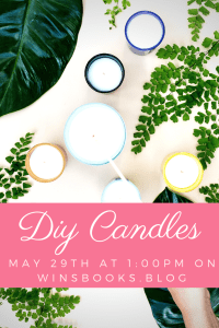 How to make diy candles-Winsbooks: learn how to make your own candles with me