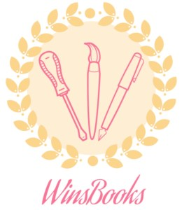 WinsBooks logo: abotu me page learn more