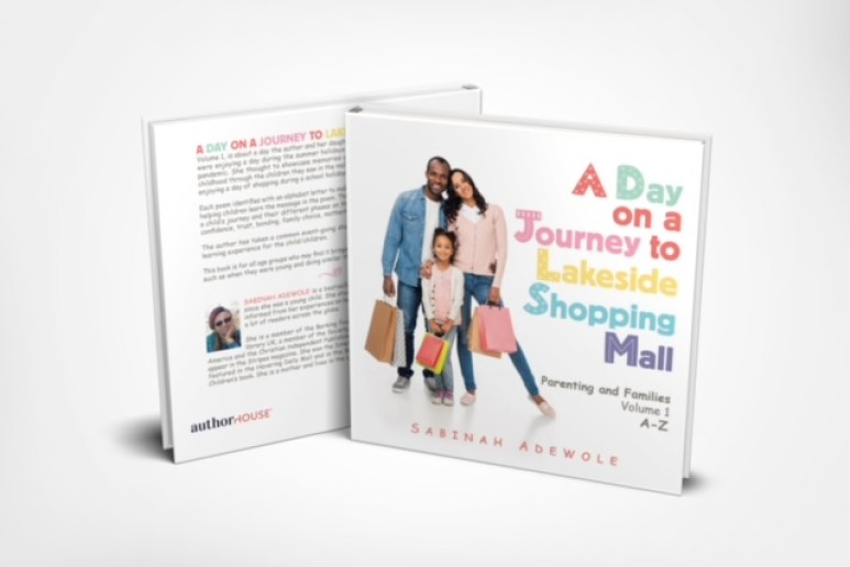A day on a journey to Lakeside Shopping Mall -Vol 1 book cover by Sabìnah Adewole