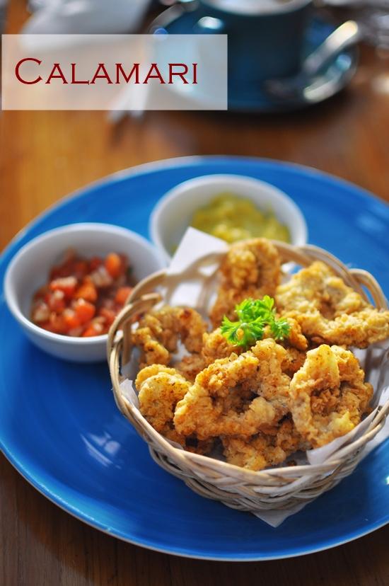 Fried Calamari Masakini