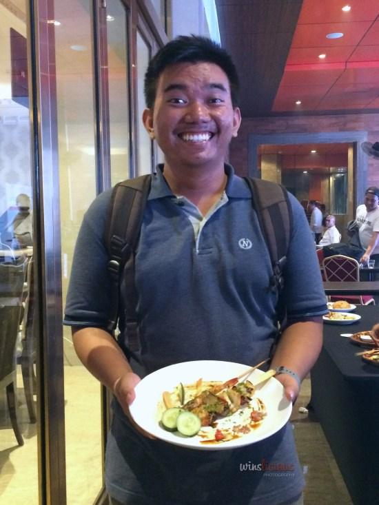 Bimo, Pemenang Ketiga Food Styling