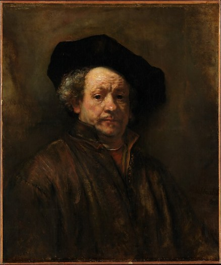 Rembrandt (Rembrandt van Rijn) (Dutch, Leiden 1606–1669 Amsterdam) Self-Portrait, 1660 Oil on canvas; 31 5/8 x 26 1/2 in. (80.3 x 67.3 cm) The Metropolitan Museum of Art, New York, Bequest of Benjamin Altman, 1913 (14.40.618) http://www.metmuseum.org/Collections/search-the-collections/437397