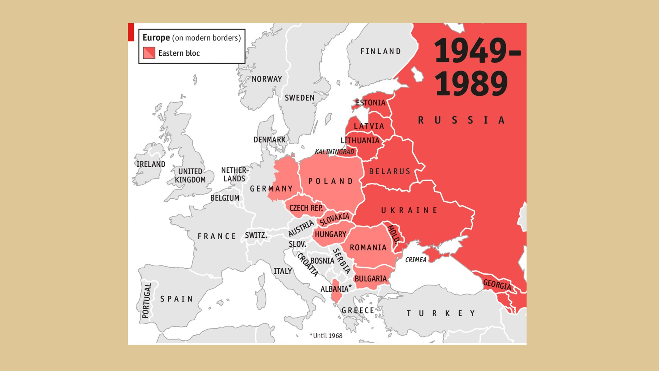 How Did The Iron Curtain Cause Cold War