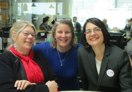 Senator Jeannette White, Chloe Learey, Executive Director and Senator Becca Balint