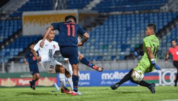 ไทย ประเดิมสวย ยำ เมียนมา 4-0 เกมชิงแชมป์เอเชีย U16
