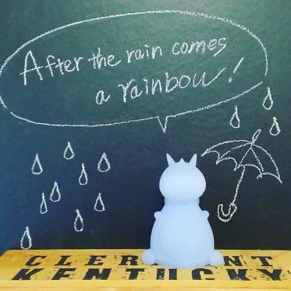 だから雨の日も、がんばっていこー。