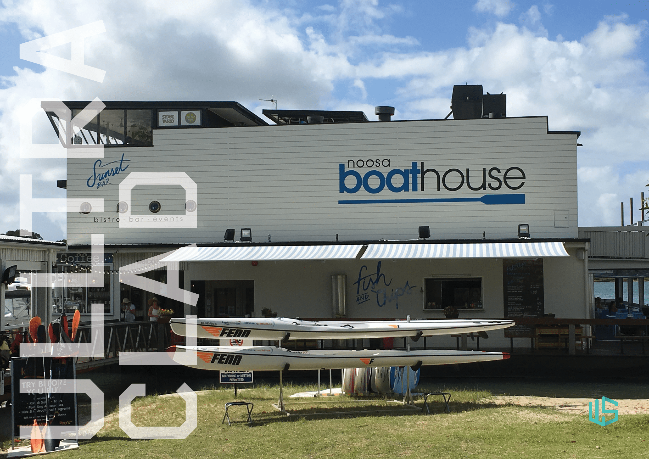 Ulltraclad Project Cover - Noosa Boat House