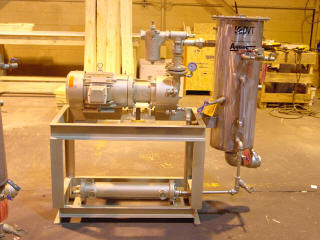 Extruder Vacuum Pump System | Full Recovery Liquid Ring Vacuum Pump System