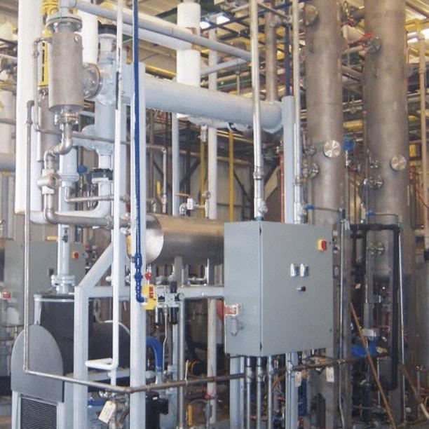 Liquid Ring Process Vacuum System   Booster   Condenser