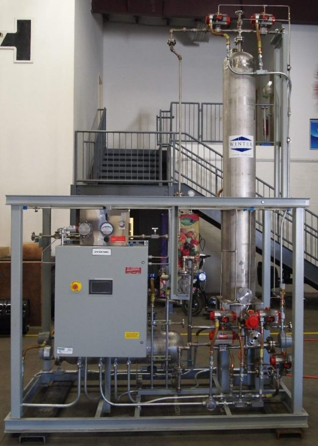 Liquid Phase Molecular Sieve Dehydration Unit
