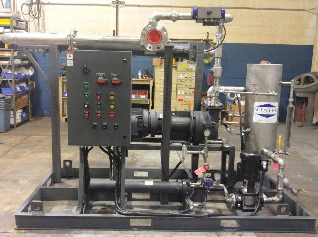 hogging & holding, condenser, liquid ring vacuum pump
