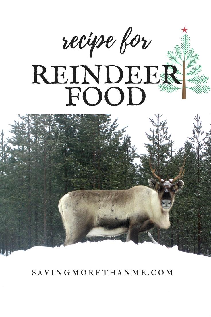 RECIPE FOR REINDEER FOOD #CHRISTMAS #WINTER #REINDEER