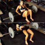 hip thrusts with weights