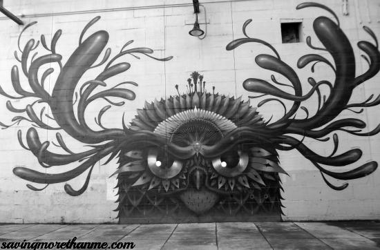 street art canal walk richmond va #rva #owl