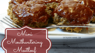 Mini Mouthwatering Meatloaf Recipe