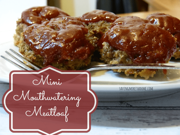 Mini Mouthwatering Meatloaf #food #recipes #meatloaf #easy