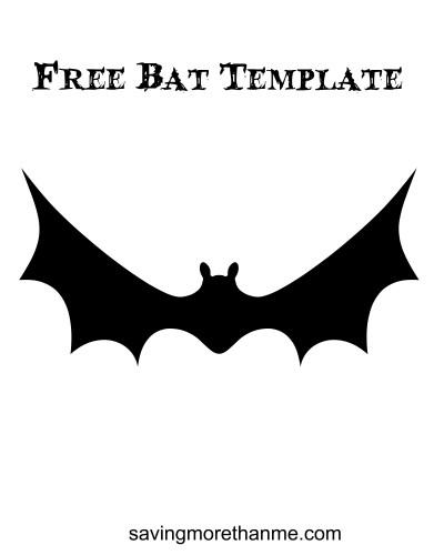 Free bat template winterandsparrow.com