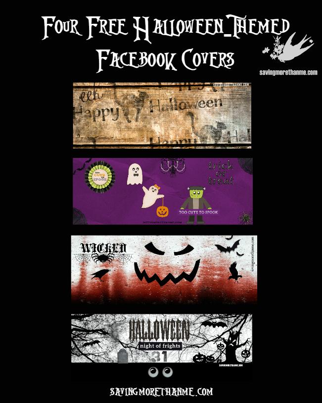 Halloween: Four Free Facebook Covers + Four Vintage & Spooky Songs #halloween winterandsparrow.com