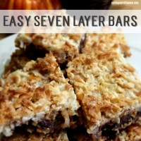 Classic Seven Layer Cookie Bars